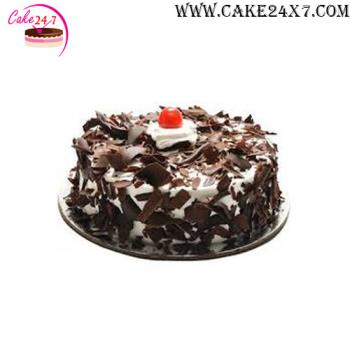 Black Forest Flax Cake