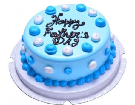 Blue Pineapple Cake