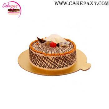 Butterscotch Chocolate Flax Cake