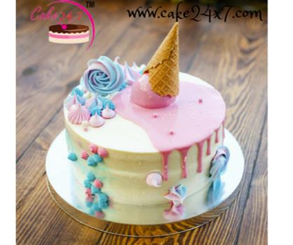 Cool Fondant Design Cake Online Cake Delivery 24X7 Home Delivery Of Personalised Birthday Cards Veneteletsinfo