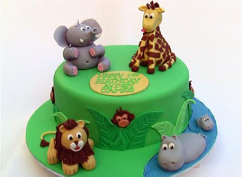 Jungle Design Cake