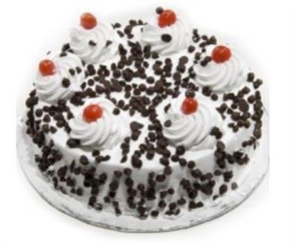 Black Forest Chocochip Cake