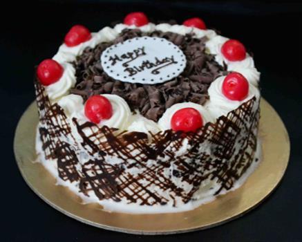 Black Forest Crunch Cake