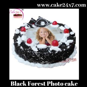 Black Forest Photo cake