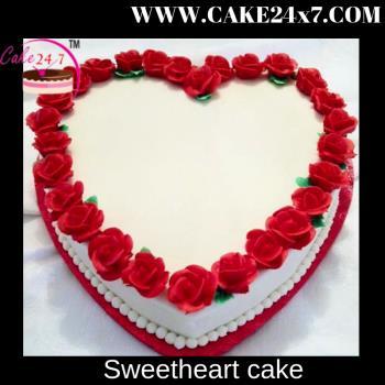 Sweetheart cake1