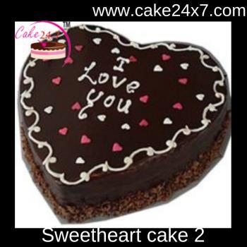 Sweetheart cake 2