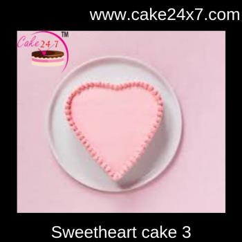 Sweetheart cake 3