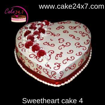 Sweetheart cake 4