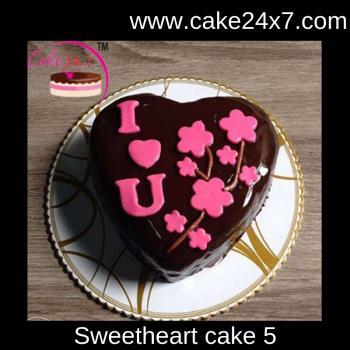 Sweetheart Cake 5