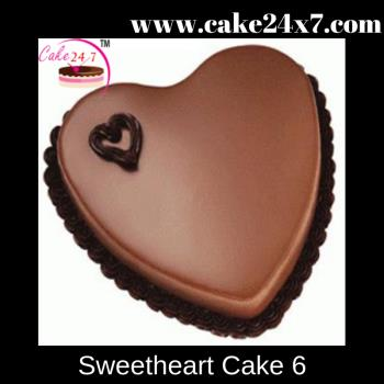 Sweetheart cake 6