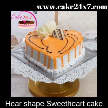 Hear shape Sweetheart cake