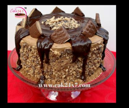 Chocolate Crunch Cake