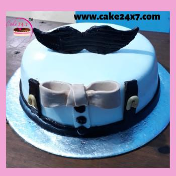 Cool Cake For Men 24X7 Home Delivery Of Cake In Ghatkopar East Mumbai Birthday Cards Printable Giouspongecafe Filternl