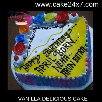 Vanilla Delicious Cake