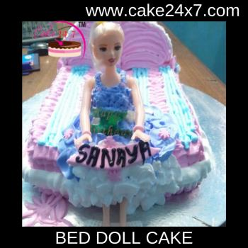 Bed Doll Cake