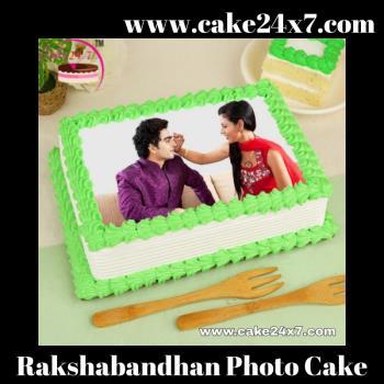 Rakshabandhan Photo Cake