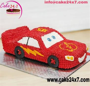 Sports Car Cake Chocolate Flavour