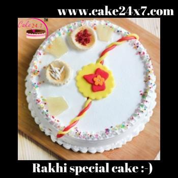 Rakhi special cake 0