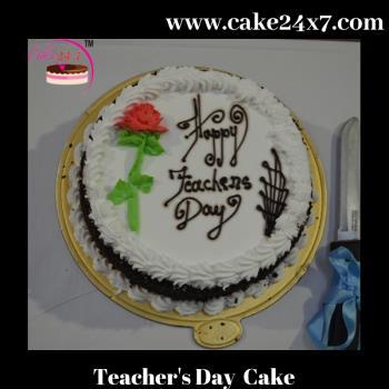 Special for Teacher's Day Choco vanilla Cake