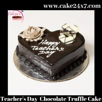 Chocolate Truffle Special Cake for teacher's day