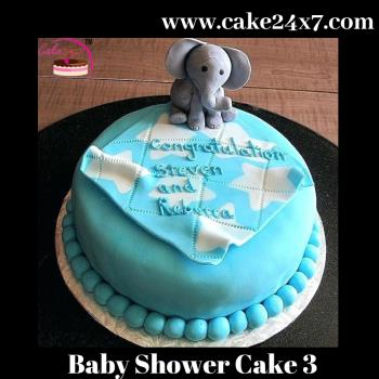 Baby Shower Cake 3