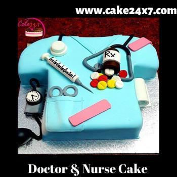 Doctor & Nurse Cake