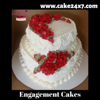 Engagement Cream Cakes