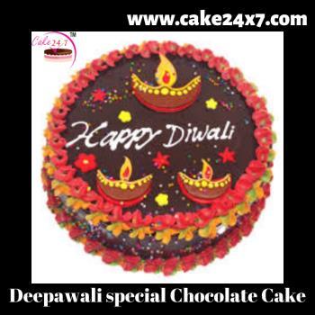 Deepawali special Chocolate Cake