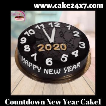 Countdown New Year Cake 1