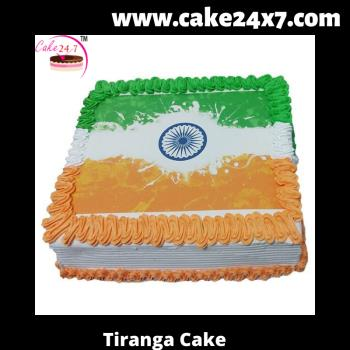 Tiranga Cake