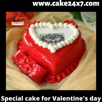 Special cake for Valentine's day