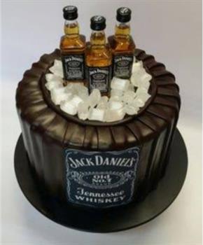 Jack Daniels Miniature Cake