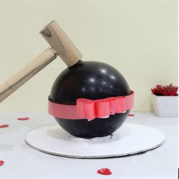 Pinata Chocolate Bomb Blast  Hamer Cake